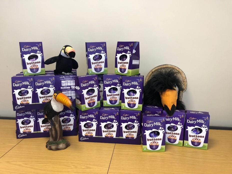 Toucan for Children Easter Eggs